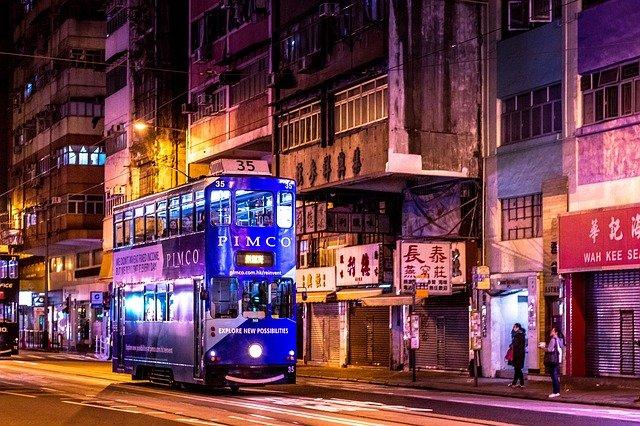 autobus v hong kongu