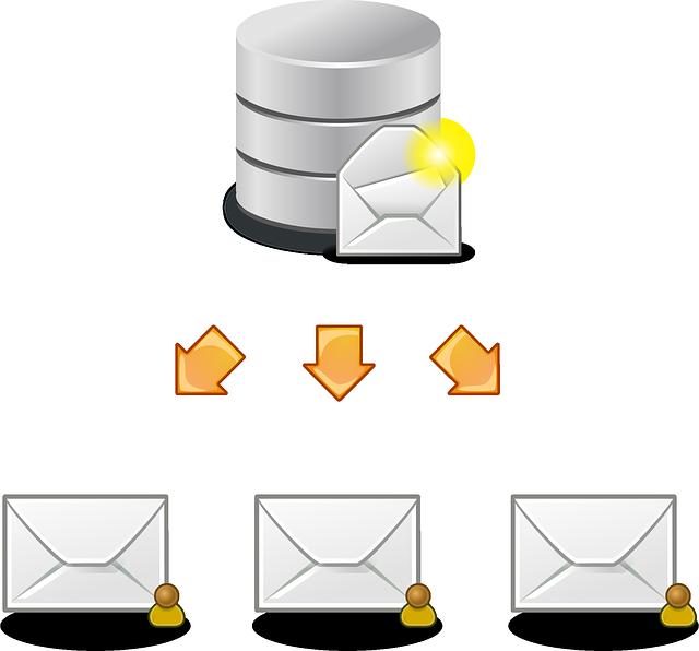 rozesílání pošty