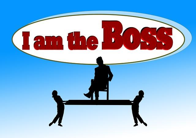 já jsem tady šéf