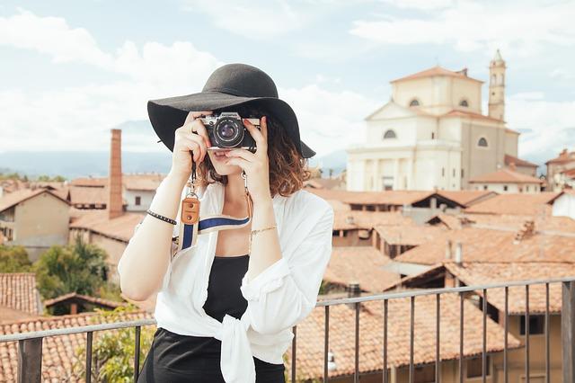 elegantní fotografka