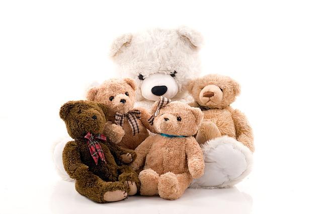 plyšoví medvědi