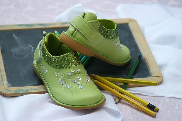 zelené botky