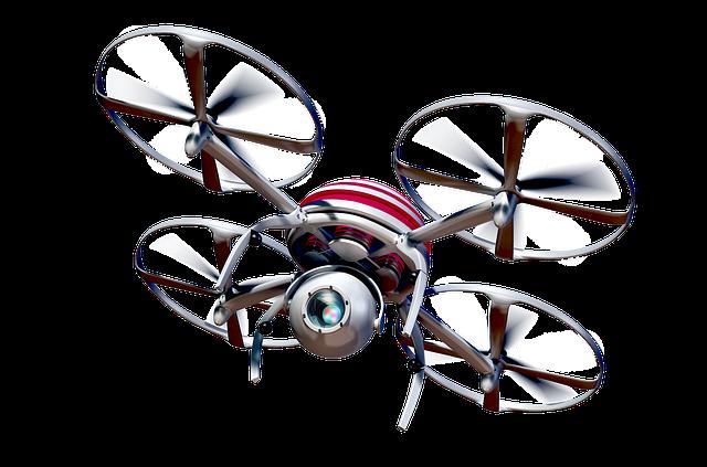 létající quadrocopter
