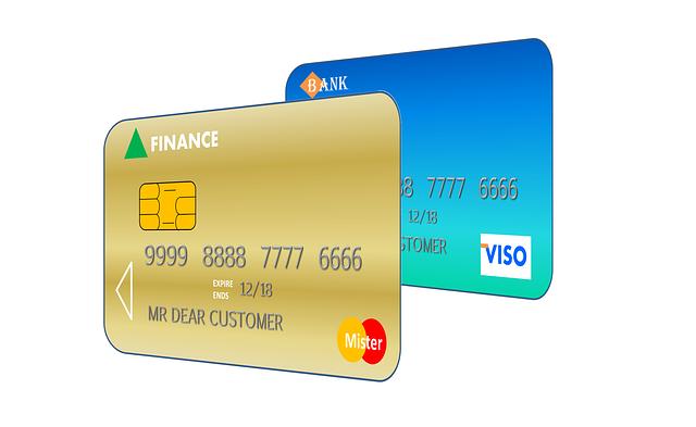 ilustrace kreditní karty