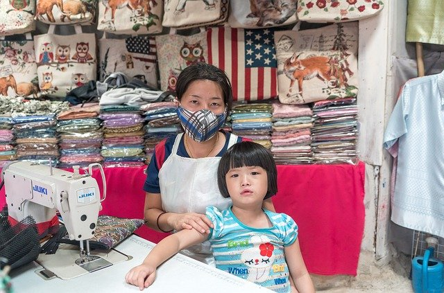 výroba tašek v Číně