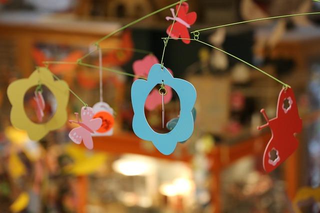 dekorace z papíru